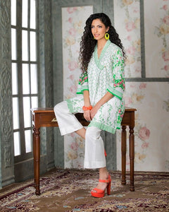 Gul Ahmed White Spring/Summer 2017 Collection  Single Embroidered-SL # 369