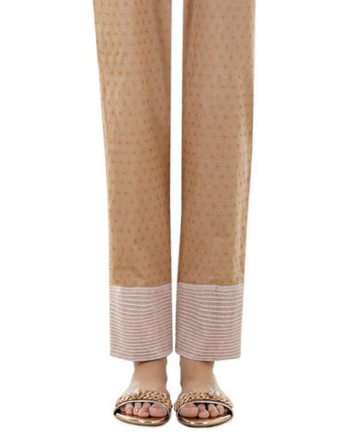 Lala Winter Wheat Cotton Fantaisie Trouser - LTR-040