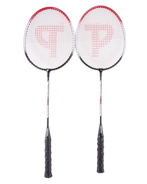 Pair of 2 - Badminton Rackets With Wide Frame - Multicolor