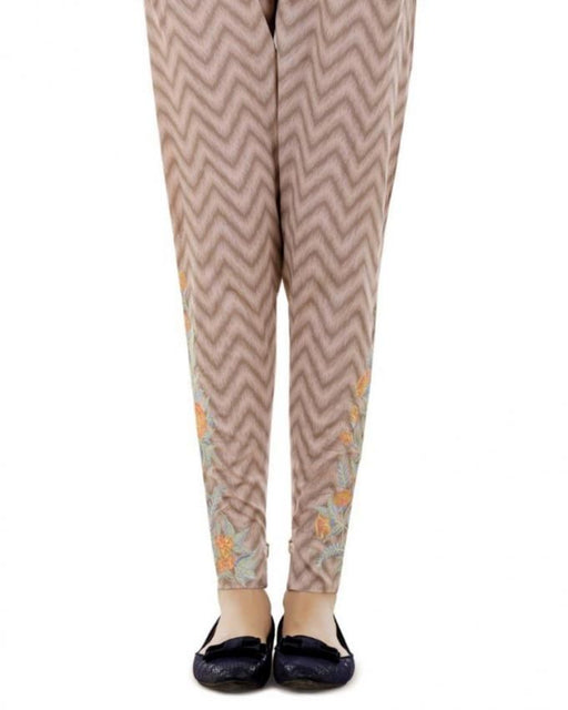 Lala Sand Cotton Fantaisie Trouser - LTR-032