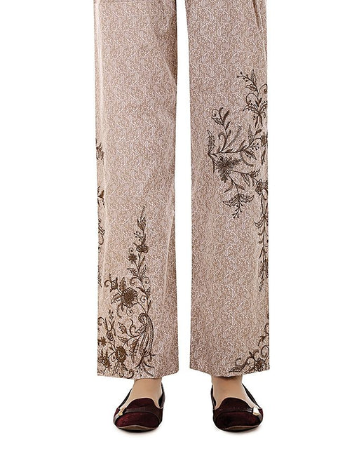 Lala Skin Cambric Embroidered Fantaisie Trouser Collection