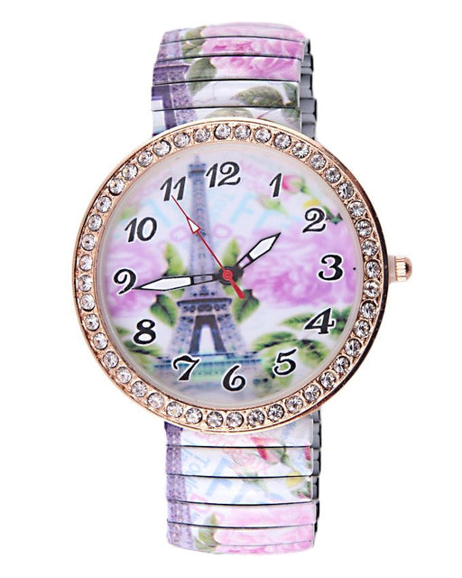 Style and Comfort Multicolor Alloy Watch for Women - LW-2138