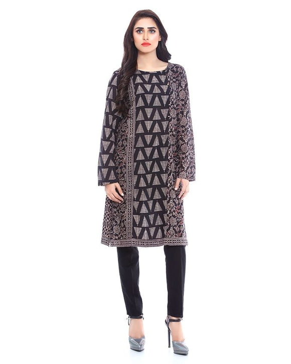 BEECHTREE Black Lawn Kurta for Women