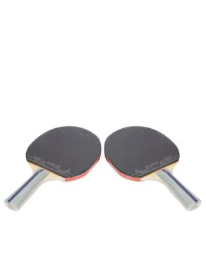 Set of 2 - Table Tennis Rackets - Black