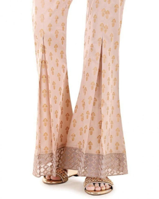 Lala Fawn Cotton Fantaisie Trouser - LTR-031A