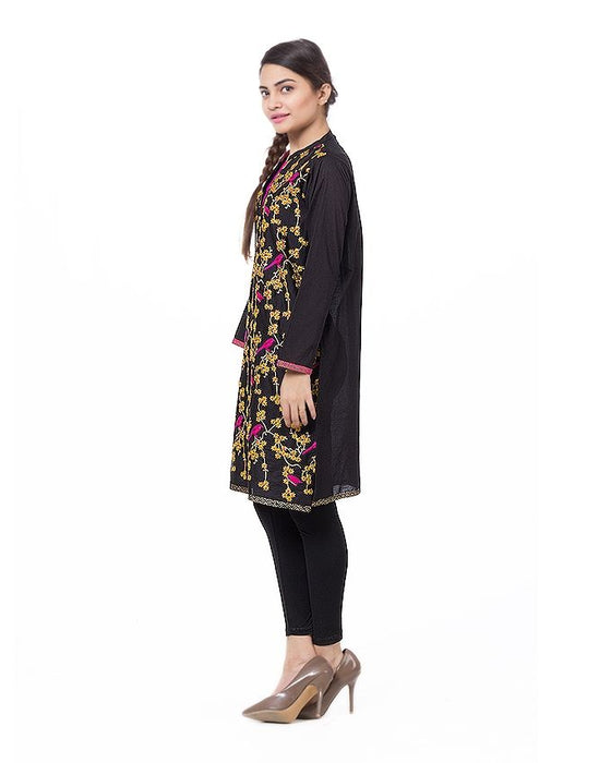 Gul Ahmed Multi Color 1 Pcs Shirt Printed Cambric Kurta - GLS-16-03-117343