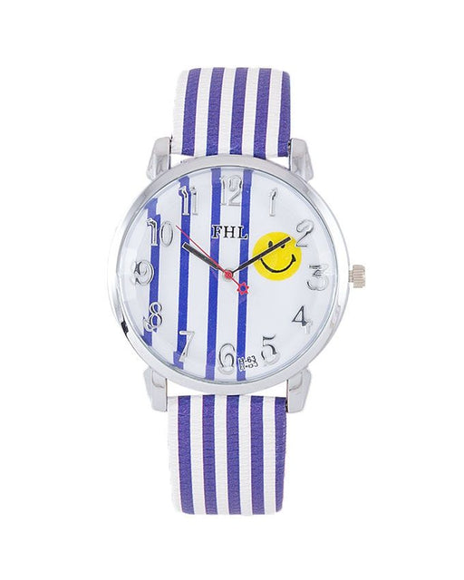 Style and Comfort LW-2103 - Watch For Women - Purple & White