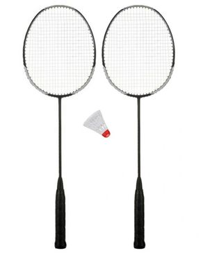 Racket With Plastic Shuttle