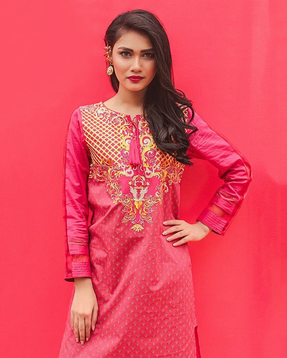 BEECHTREE Ready To Wear Shirt For Women Pink