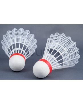 Pack Of 3 Badminton Shuttlecock Plastic