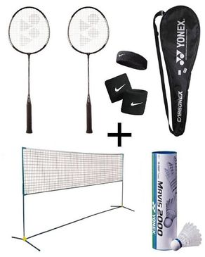 Pack of 12 - Badminton Set - Multicolour