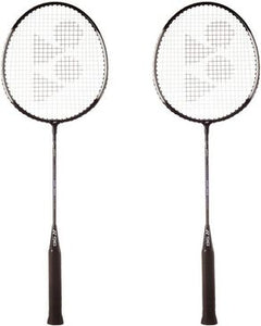 Pair of Yonex Badminton Racket - Black