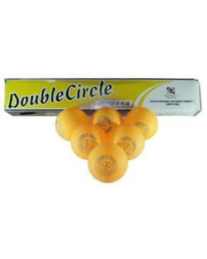 Click Here Pack of 6 - Double Circle Table Tennis Ball