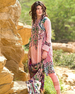 Gul Ahmed Spring/Summer 2017 Collection - Volume # 2 Embroidered La Chiffon-C-443