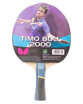 Butterfly Timo Boll 2000 - Table Tennis Racket - Red & Black