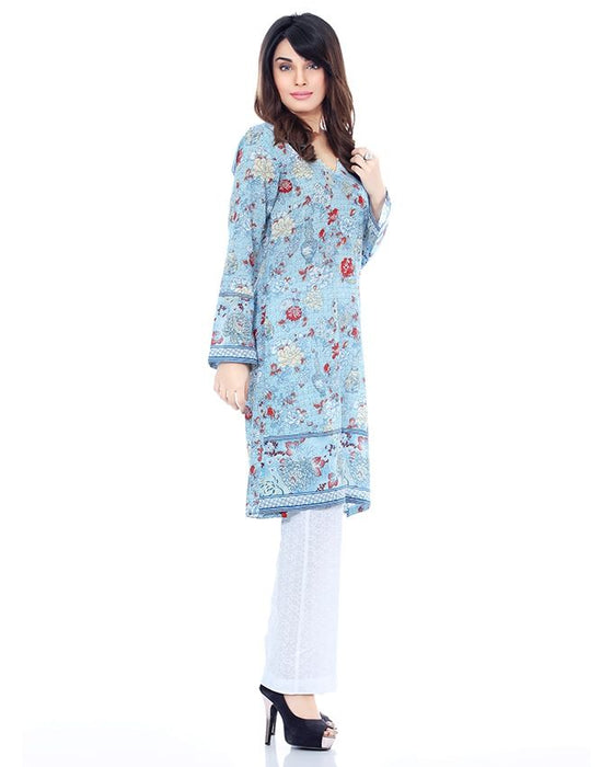 BEECHTREE Light Blue Trendy Pretwear Shirt