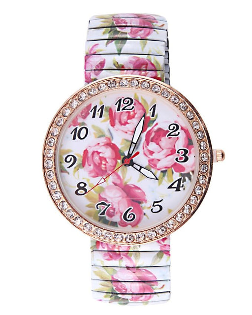 Style and Comfort Multicolor Alloy Watch for Women -  LW-2137