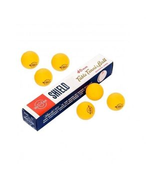 Click Here Pack of 6 - Table Tennis Balls - Orange