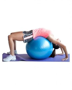Click Here Gym Ball - 75cm - Blue