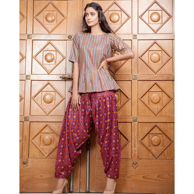 Lala Blue Unstitched Lala Designer 2 PC Lawn