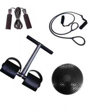 Click Here Pack of 4 - Exercise Package - Black