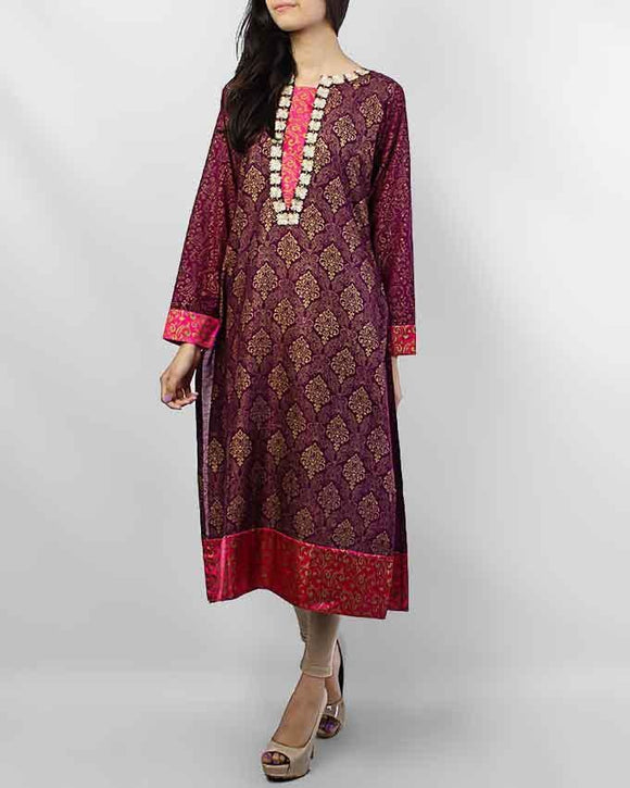 ESSEMM Collections Purple Haze Khadi Kurta