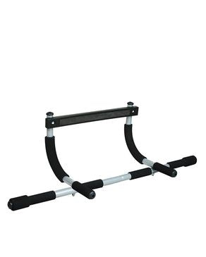 CyberTele Iron Gym Bar - Silver
