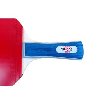 Table Tennis Racket - Red & Black