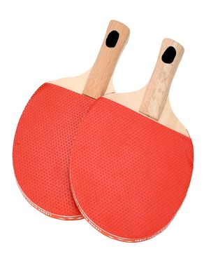 Table Tennis Racket & Balls - Multicolor
