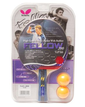 Butterfly Fellow 200 - Table Tennis Racket - Blue