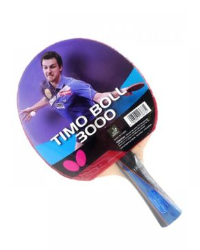 Timo Boll 3000 - Table Tennis Racket - Red & Black