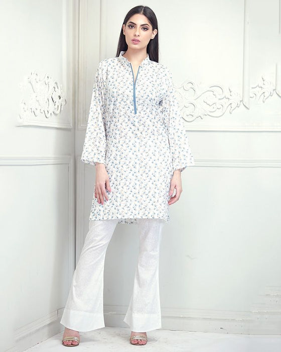 Lala Blue Chaman Classic Lawn 1PC Unstitched