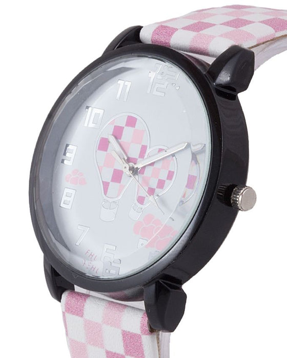 Style and Comfort LW-2100 - Watch For Women - Pink & White