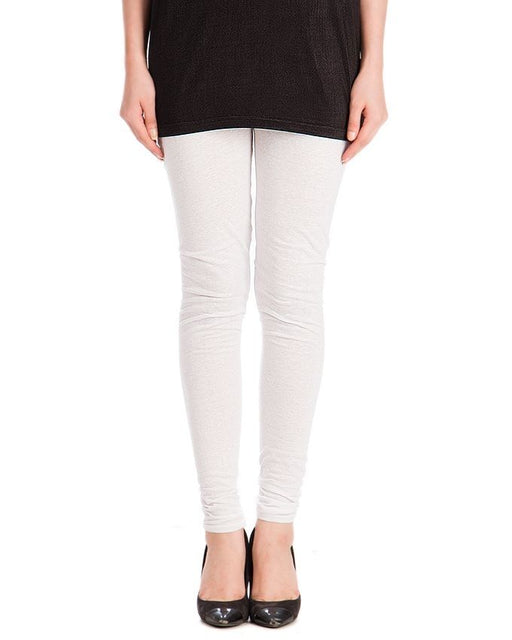 QK Styles White ViscoseTights For Women