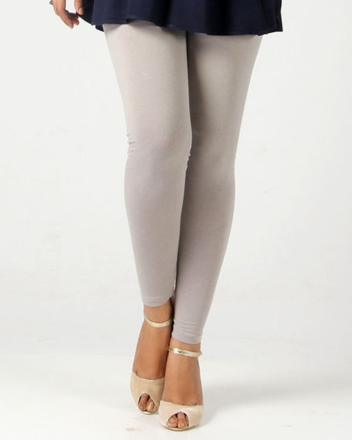 Ego Silver Grey Next To Skin Mix Cotton Tights