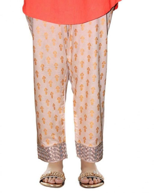 Lala Fawn Cotton Fantaisie Trouser - LTR-031B