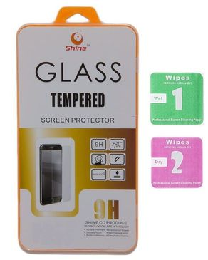 Infinix Pack of 2 - HQ Tempered Glass Screen Protector and Soft Jelly Case - Black