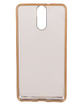 Chocolate Color Hard Jelly Bumper Fancy Case for Infinix Hot S X521