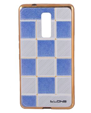 Blue and White Satranj Fancy Hard Jelly Bumper Case For Infinix Note 3 X601