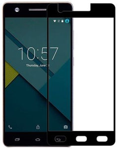 Infinix Explosion Proof Color Tempered Glass for HOT S X521 - Black & Neutrals