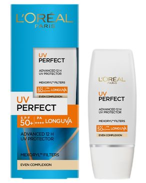 L'Oreal Paris UV Perfect Sunblock SPF 50 30ml