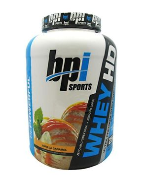 BPI Sports Whey HD - 5 lbs - Vainlla Caramel
