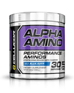 Cellucor Alpha Amino - Icy Blue Razz - 30 Servings