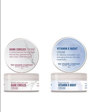 Pack of 2 - Dark Circles & Vitamin E Night Creams