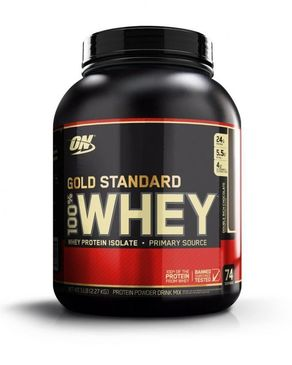 Whey Gold Standard - 5lb - Double Rich Chocolate