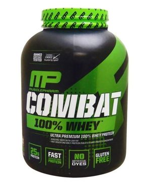 Muscle Pharm Combat 100% Whey Protein - 5 lbs - Cookies & Cream