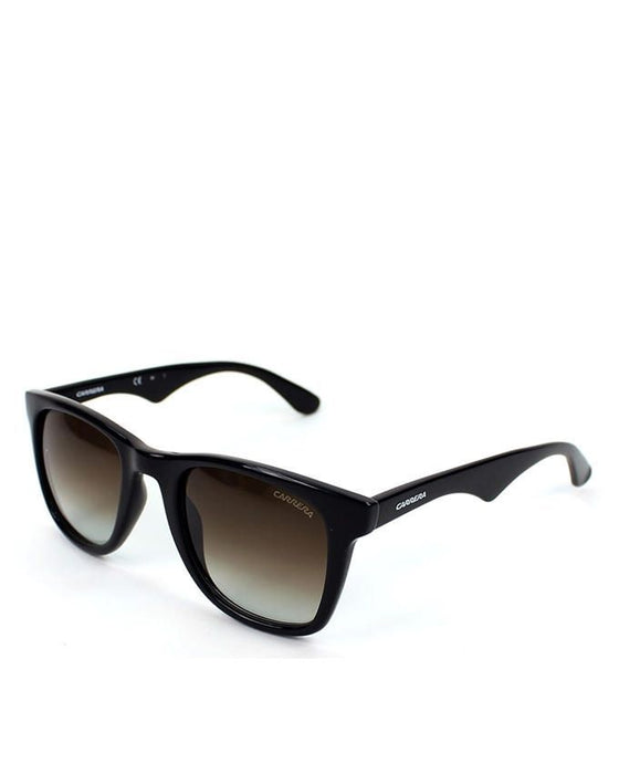 Carrera Acetate Shiny Black Frame with Ruthen Gradient Lens Sunglasses