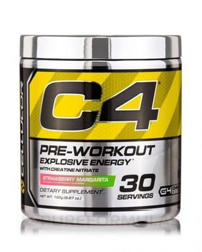 Cellucor C4 Pre Workout Supplements with Creatine - 30 Servings - Strawberry Margarita