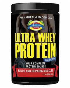 Bodybuilding Stamina & Strength (Ultra Whey Protein) - 1lbs