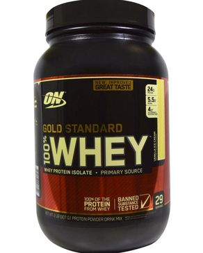 Gold Standard Whey - Vanilla Ice Cream - 2 lbs